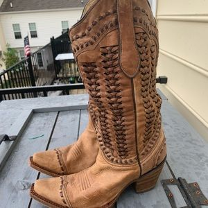 Corral boots worn 3 times